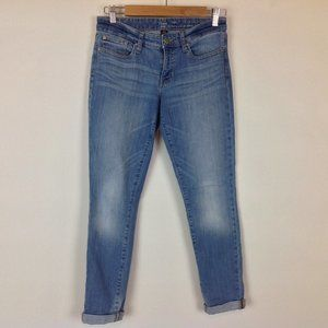 Gap Skinny Coupe Jeans Womens 2 26 Cuffed